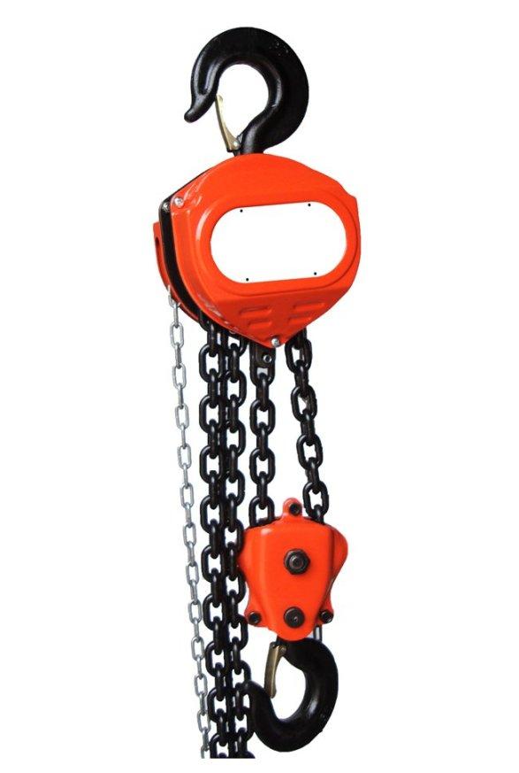 Polipastos de cadena
