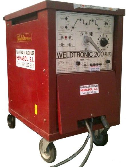 Weldtronic 200 AC/DC